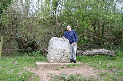 Writer at the Source Stone