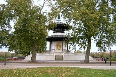London Peace Pagoda, Battersea Park
