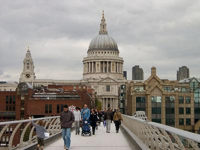 View of St Pauls across the Bridge