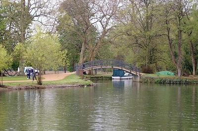 River Cherwell joins the Thames at Oxford