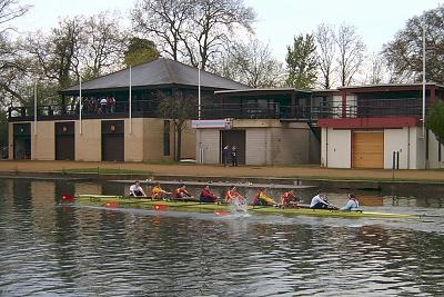 Rowing Teams Training at Oxford