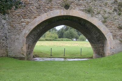 Wallingford Bridge,  Pointed and Curved Arches