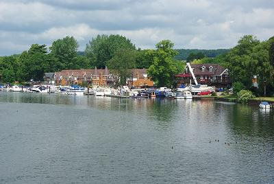 Marina at Bourne End