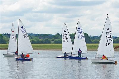 Sailing at Bourne End